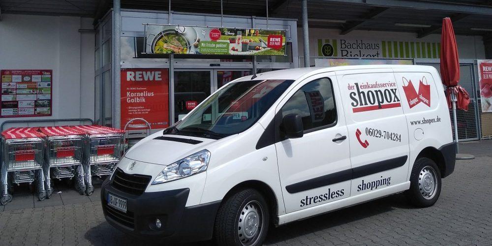 REWE Kornelius Golbik und Shopox in Mömbris starten Lieferservice