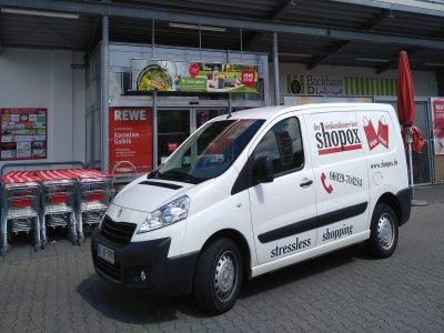 WHATREWE Kornelius Golbik und Shopox in Mömbris starten Lieferservice