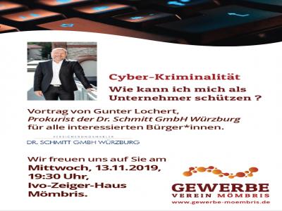 WHATCyber-Kriminalität – Wie kann ich mich schützen?