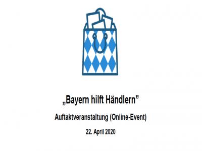 WHATSoforthilfe-Programm für Einzelhändler und Werbegemeinschaften in Bayern