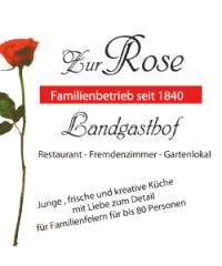 "Landgasthof ""Zur Rose"""